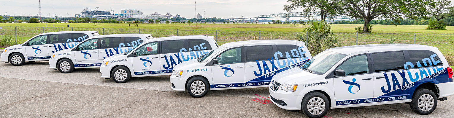 JAX CARE Patient Transport, Wheelchair, Stretcher & Ambulatory (Non-emergency) Jacksonville Florida