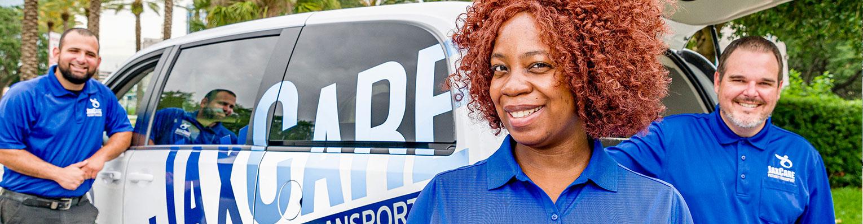 JAX CARE Patient Transport, Wheelchair, Stretcher & Ambulatory (Non-emergency) Jacksonville Florida